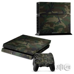 New COOL Camouflage Skin Sticker Set For PS4 Playstation 2 | Accessories & Supplies for Electronics for sale in Lagos State, Ikeja