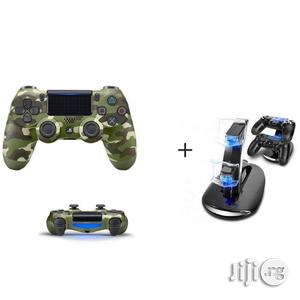 Sony PS4 Pad - Dualshock 4 Wireless Controller - Camo   Accessories & Supplies for Electronics for sale in Lagos State, Ikeja