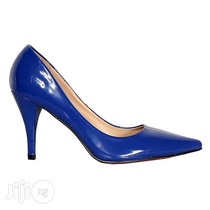 Forever21 Women's Heel Court Shoe - Blue | Shoes for sale in Oshodi-Isolo, Lagos State, Nigeria