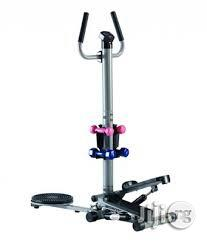 Brand New Standing Stepper With Twister and Dumbbells   Sports Equipment for sale in Rivers State, Port-Harcourt