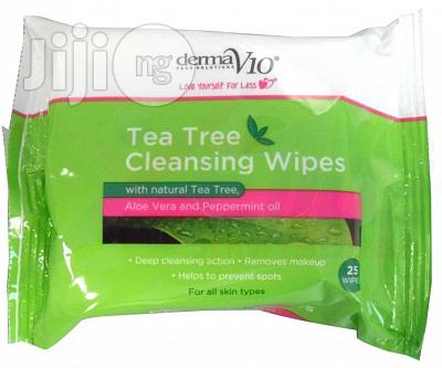 Tea Tree Cleaning Wipes 25pis