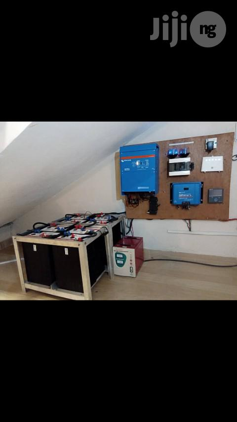 Archive: 5KVA Victron Energy Inverter & Solar System