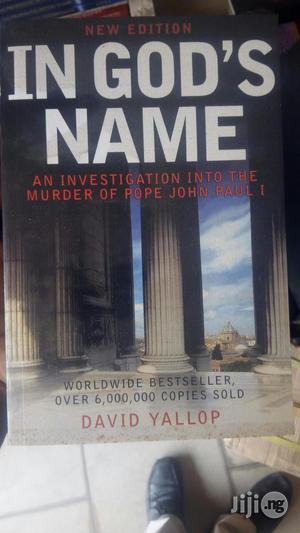 In God Name By David Yallop   Books & Games for sale in Lagos State, Yaba