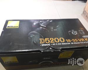 Nikon D5200 New Professional Video Camera With 18to55mm Lens | Photo & Video Cameras for sale in Lagos State, Ikeja