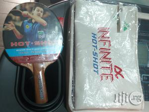 Best Quality Infinite Hot Shot Table Tennis Bat | Sports Equipment for sale in Rivers State, Port-Harcourt
