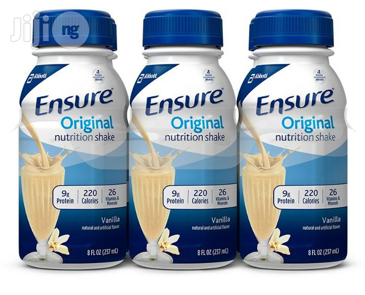 Ensure Original Nutrition Shake (24count) | Vitamins & Supplements for sale in Ikeja, Lagos State, Nigeria