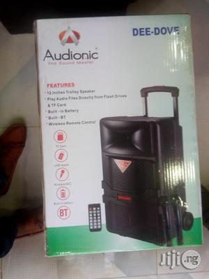 "Portable Rechargeable Public Address Speakers System D-508 Size 12"""