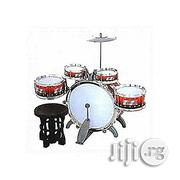 Generic Jazz Drum Set With Seat for Kids - Multicolor | Musical Instruments & Gear for sale in Abuja (FCT) State, Central Business Dis