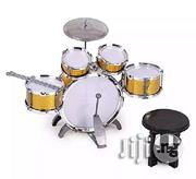Generic Jazz Drum Set With Seat For Kids - Multicolor | Musical Instruments & Gear for sale in Lagos State, Ipaja