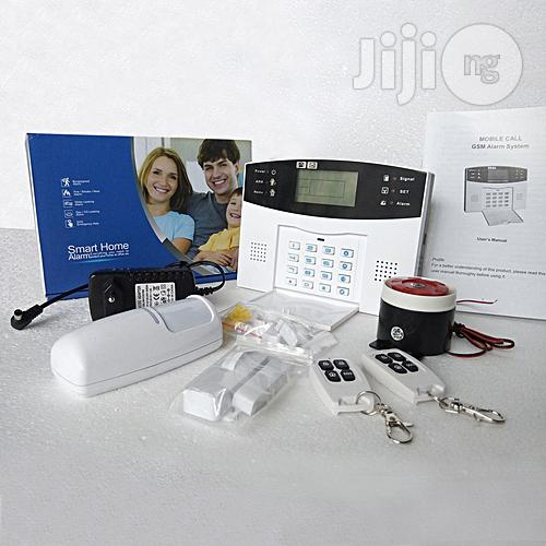 Wireless GSM Home / Office Security Alarm System (Motion Detector)