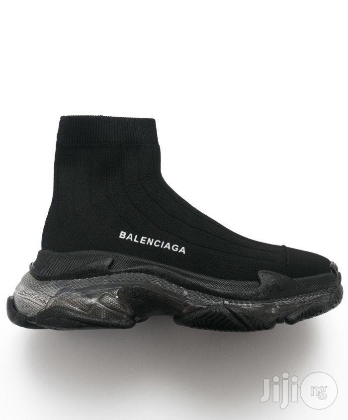 Balenciaga Triple S Air Knit Mid Socks