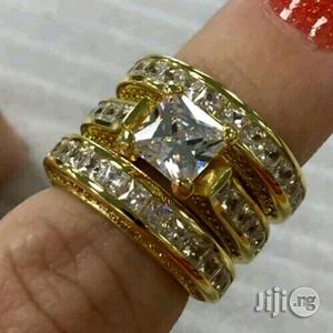 Accurate Gold Wedding Ring Set | Wedding Wear & Accessories for sale in Lagos State, Surulere