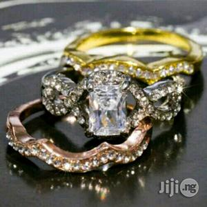 Juicy Gold Wedding Ring Set | Wedding Wear & Accessories for sale in Lagos State, Surulere