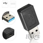 Mini USB Adapter USB 3.0 Male To Type-c Female Adapter Converter | Accessories & Supplies for Electronics for sale in Lagos State, Ikeja
