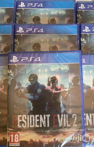 Resident Evil 2 Remake Ps4 Playstation 4 | Video Games for sale in Lagos State, Ikeja