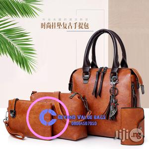 BW6102 Four In One Set Superior Design Quality Leather Ladies Bags | Bags for sale in Kaduna State, Kaduna / Kaduna State
