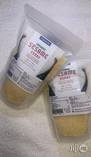 TOWG Organic Sesame Seed - Hulled White 250g | Meals & Drinks for sale in Lagos State, Magodo