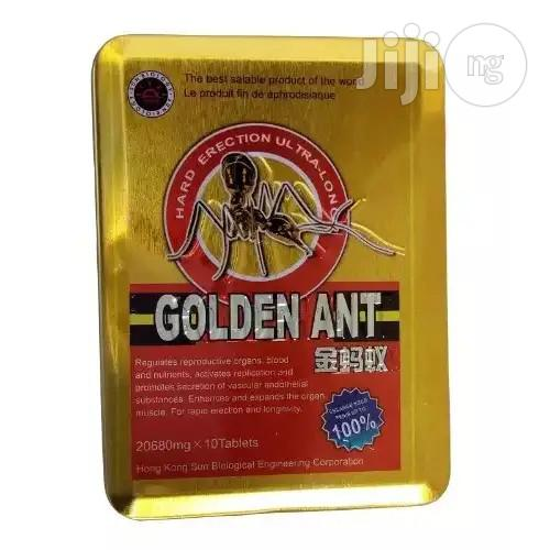 Archive: Golden Ant Penis Enlargement Erection And Delay Supplement