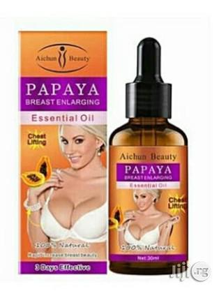 Aichun Beauty Papaya Breast Enlarging Essential Oil | Skin Care for sale in Mushin, Lagos State, Nigeria