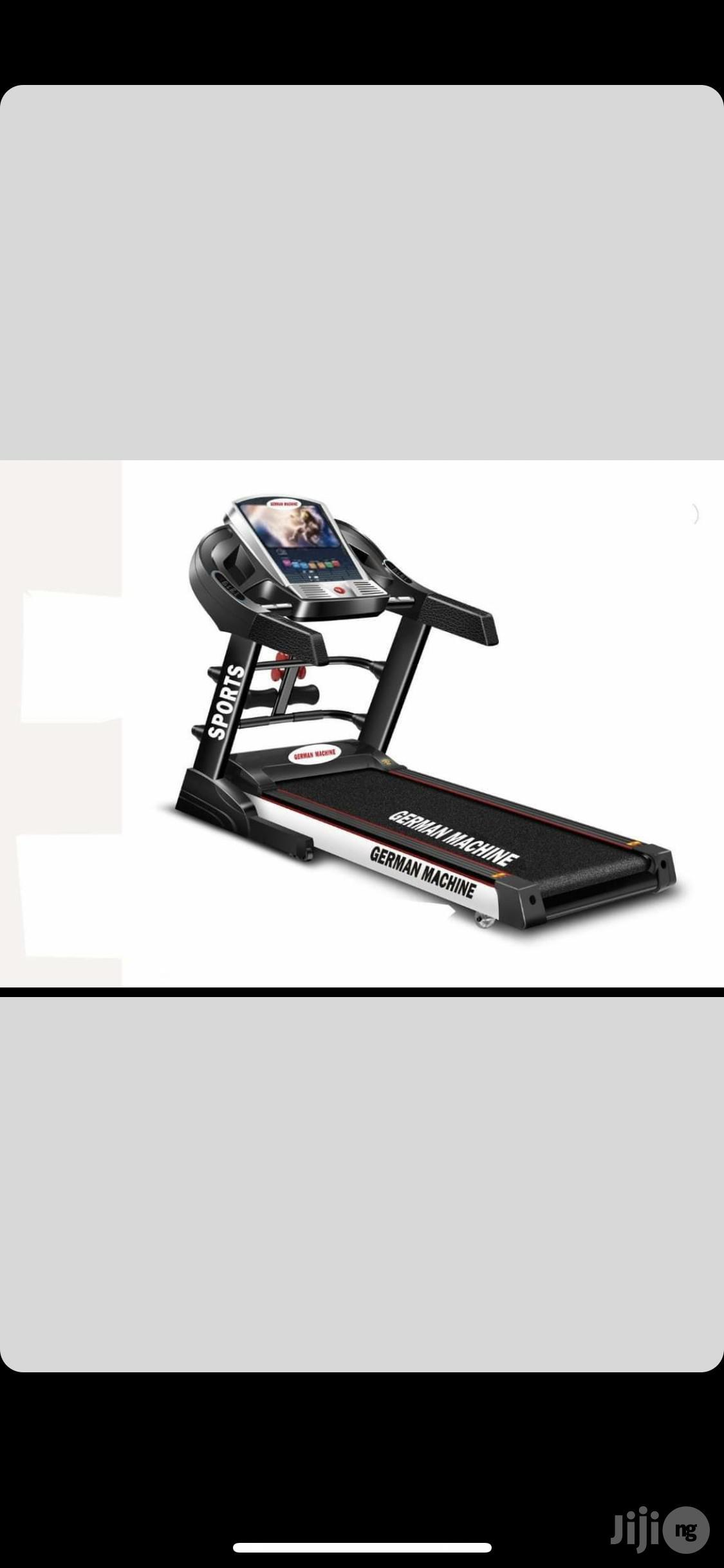 4hp Treadmill (German Machine)