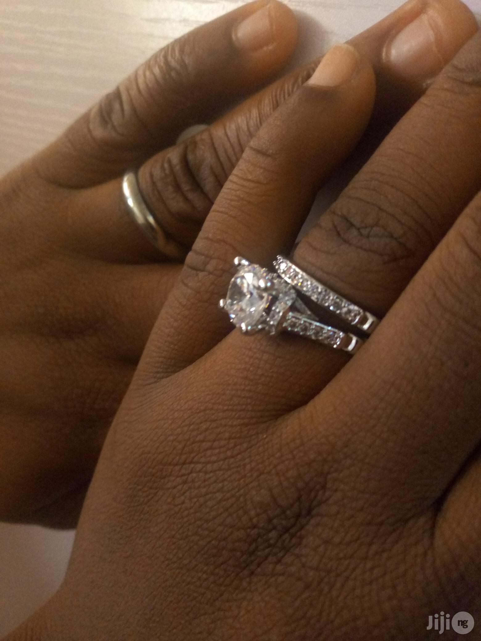 Silver Plated Wedding Ring Set | Wedding Wear & Accessories for sale in Alimosho, Lagos State, Nigeria