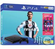 Sony PS4 500GB Console And FIFA 19 Bundle | Video Game Consoles for sale in Lagos State, Ikeja