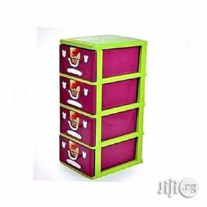 Kids/ Baby Storage Drawer/ Cabinet- 4 Layer   Children's Furniture for sale in Lagos State, Lagos Island (Eko)
