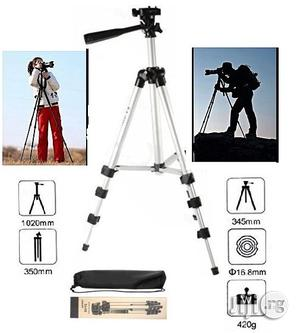 3110 Aluminum Tripod For Camera And Mobile Phone With Phone Holder | Accessories & Supplies for Electronics for sale in Lagos State, Ikeja