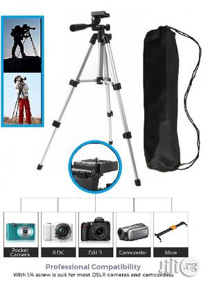 3110 Tripod Stand 4-section Lightweight With Phone Holder | Accessories & Supplies for Electronics for sale in Lagos State, Ikeja