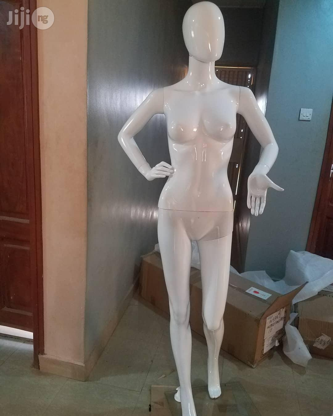 HIGH Quality Male And Female Fibre Glossy White Mannequin   Store Equipment for sale in Lagos Island (Eko), Lagos State, Nigeria