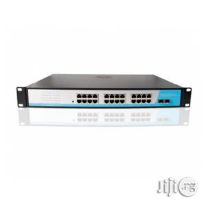 Netpro 24port Poe Switch Gigabit + 2sfp | Networking Products for sale in Lagos State, Ikeja