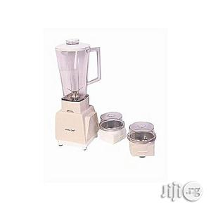 Master Chef Blender/Grinder With 2 Mills-b142 | Kitchen Appliances for sale in Lagos State, Magodo