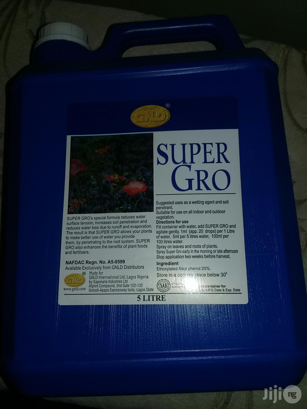 Super Gro Organic Liquid Fertilizer
