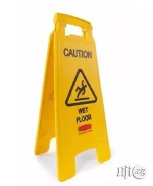 Wet Floor Caution Sign - Yellow | Safetywear & Equipment for sale in Lagos State, Lagos Island (Eko)
