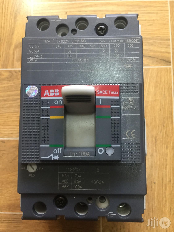 Archive: Abb 100amps 3pole Mccb Breaker