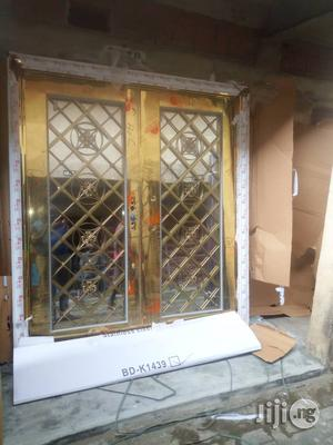 Qualty Stainless Glass Door | Doors for sale in Lagos State