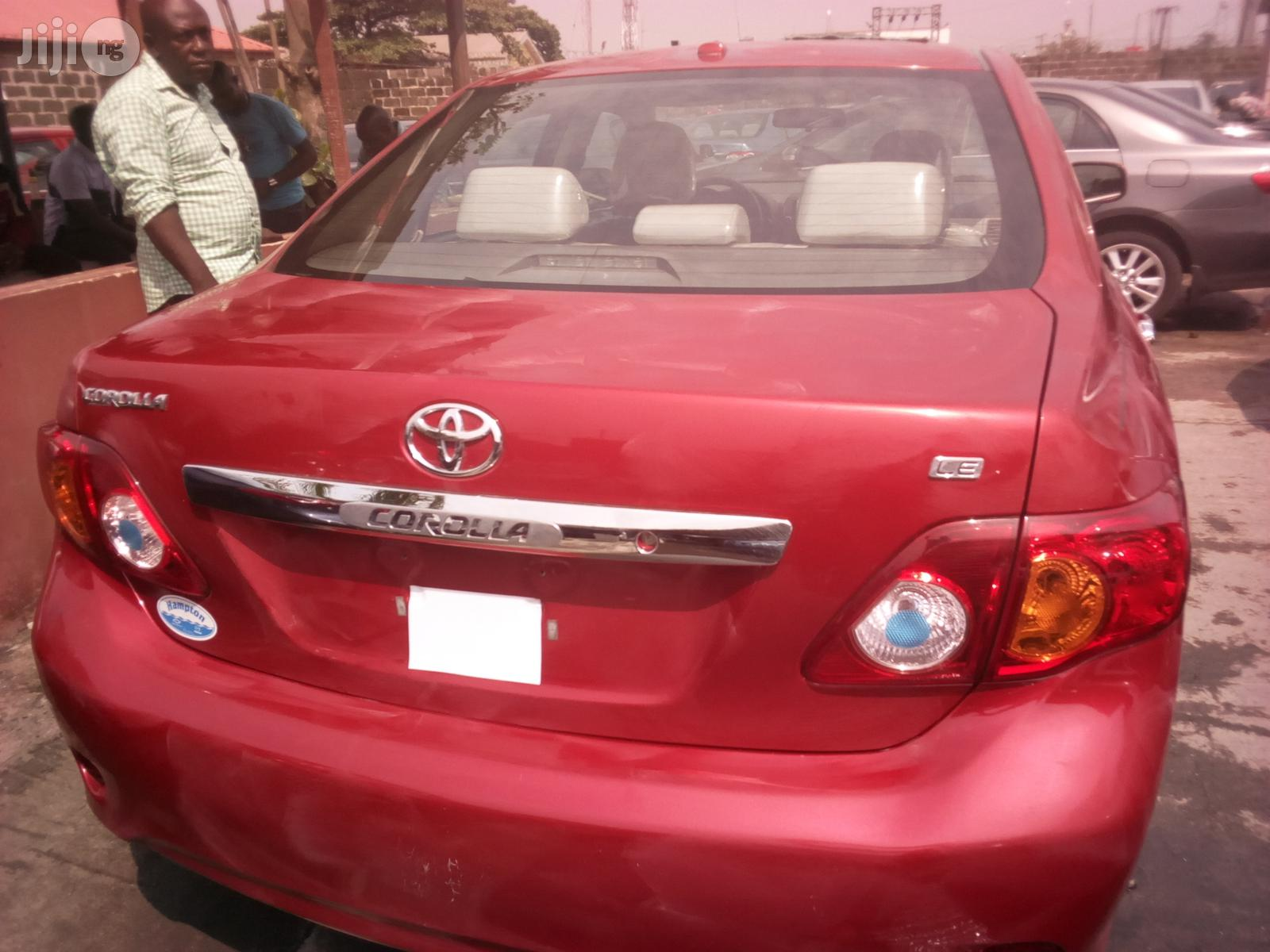 Toyota Corolla 2010 Red   Cars for sale in Apapa, Lagos State, Nigeria