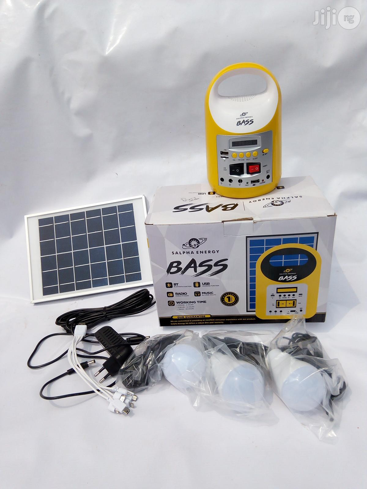 Bass Solar Kit Systems For Homes, Camping And Outdoor Use