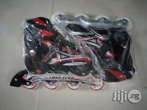 Adults Skate Shoes 41 to 44 Size Adjustable   Sports Equipment for sale in Lagos State, Surulere