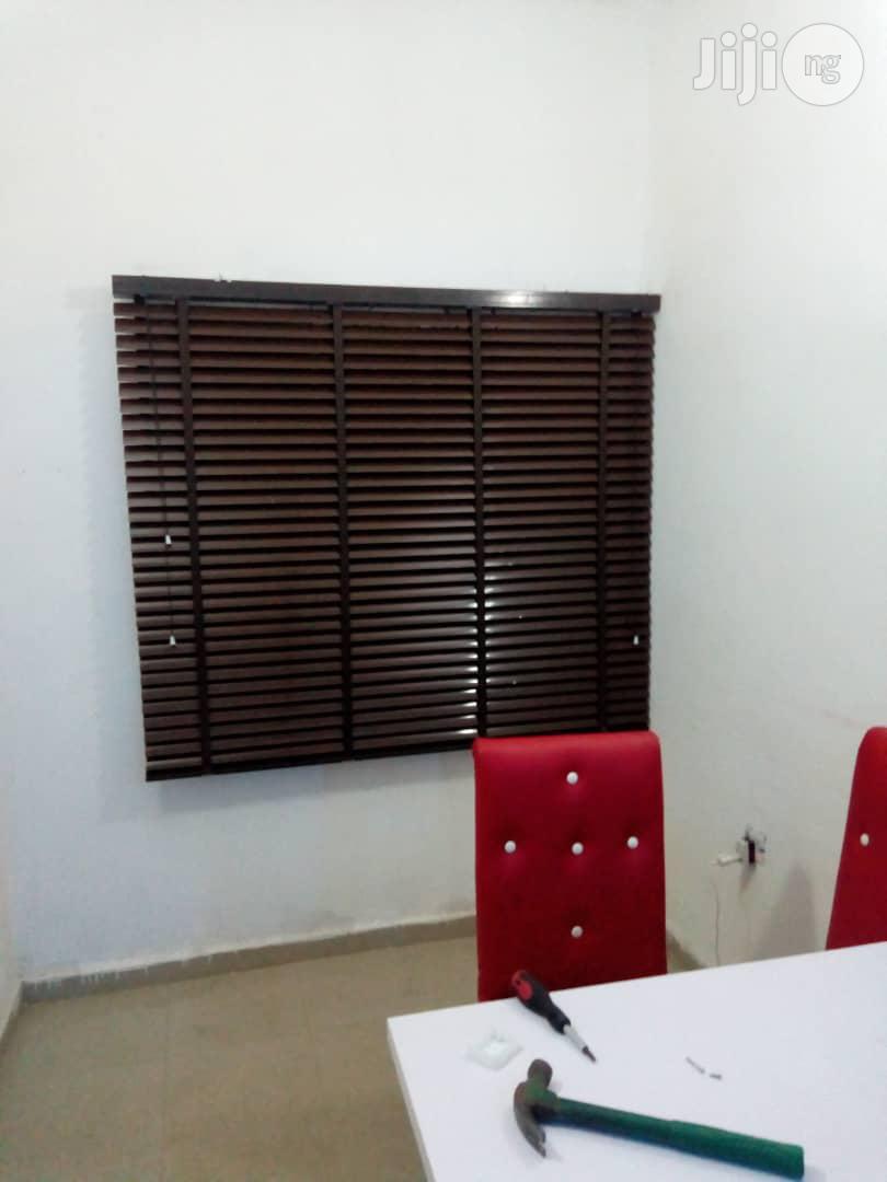 Wooden Day/Night Window Blind Curtain