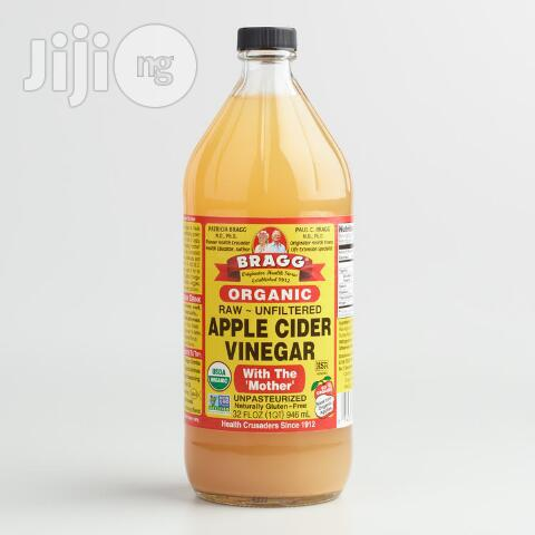 """Archive: 946ml Bragg Organic Apple Cider """"With The Mother"""""""