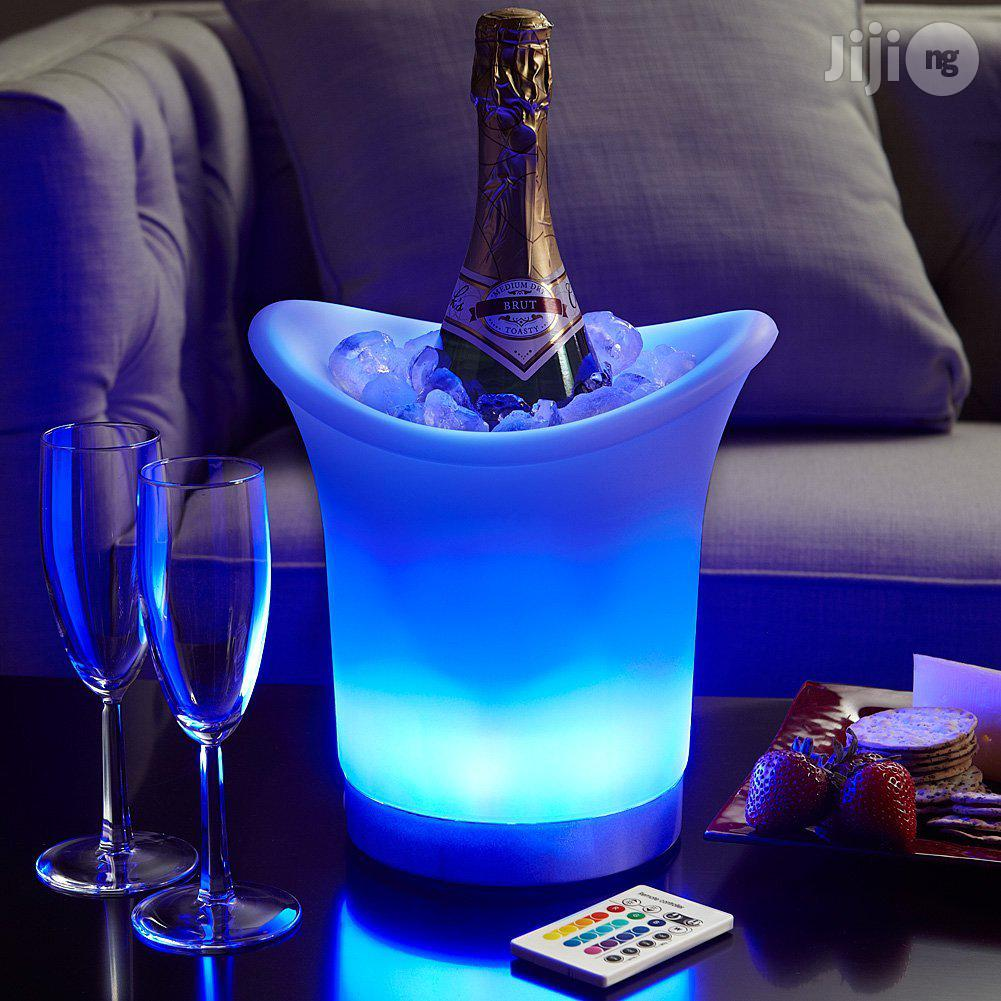 Archive: High Quality LED Champagne Bucket With Remote