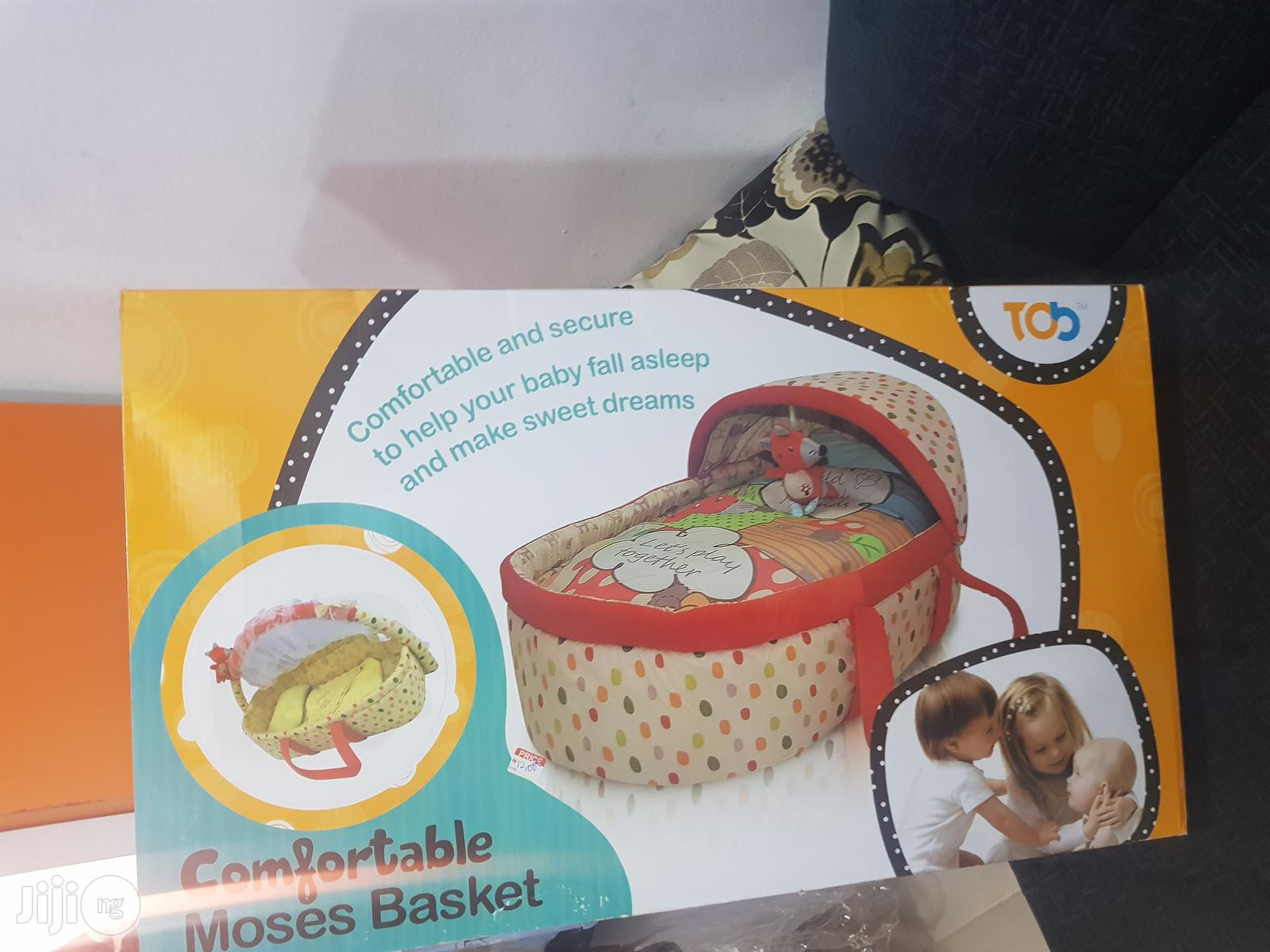 Comfortable Moses Basket | Babies & Kids Accessories for sale in Ikeja, Lagos State, Nigeria