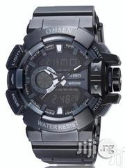 Ohsen Men's Digital Sport Watch - Black | Watches for sale in Lagos State, Ikeja