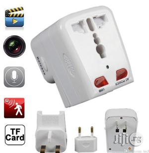 Spy Socket Plug Camera Motion Detection Universal Adapter Hidden   Security & Surveillance for sale in Lagos State, Ikeja