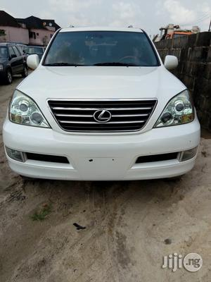 Lexus GX 2009 470 White   Cars for sale in Rivers State, Port-Harcourt