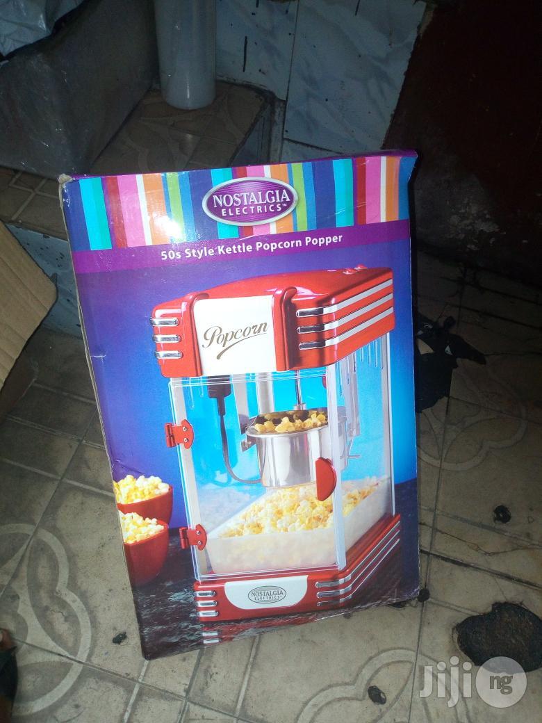 Nostalgia Electric Popcorn Machine   Restaurant & Catering Equipment for sale in Lagos State, Nigeria