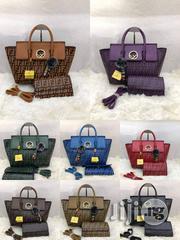 Women Leather Handbag - Fendi Roma Design Bag | Bags for sale in Lagos State, Lagos Island