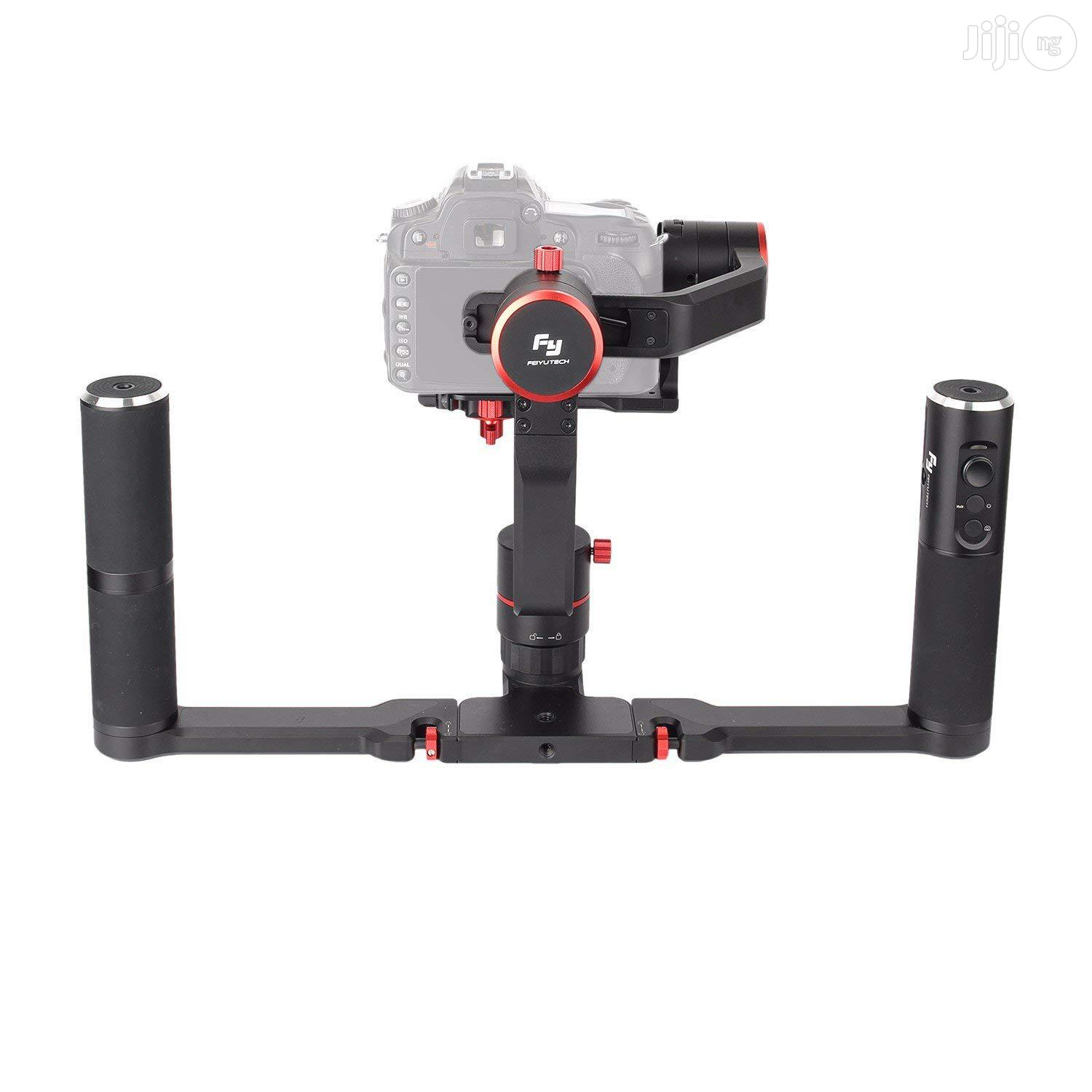 Feiyu Tech A2000 Gimbal And Dual Hand Grip Handle DSLR Stabilizer   Accessories & Supplies for Electronics for sale in Ikeja, Lagos State, Nigeria