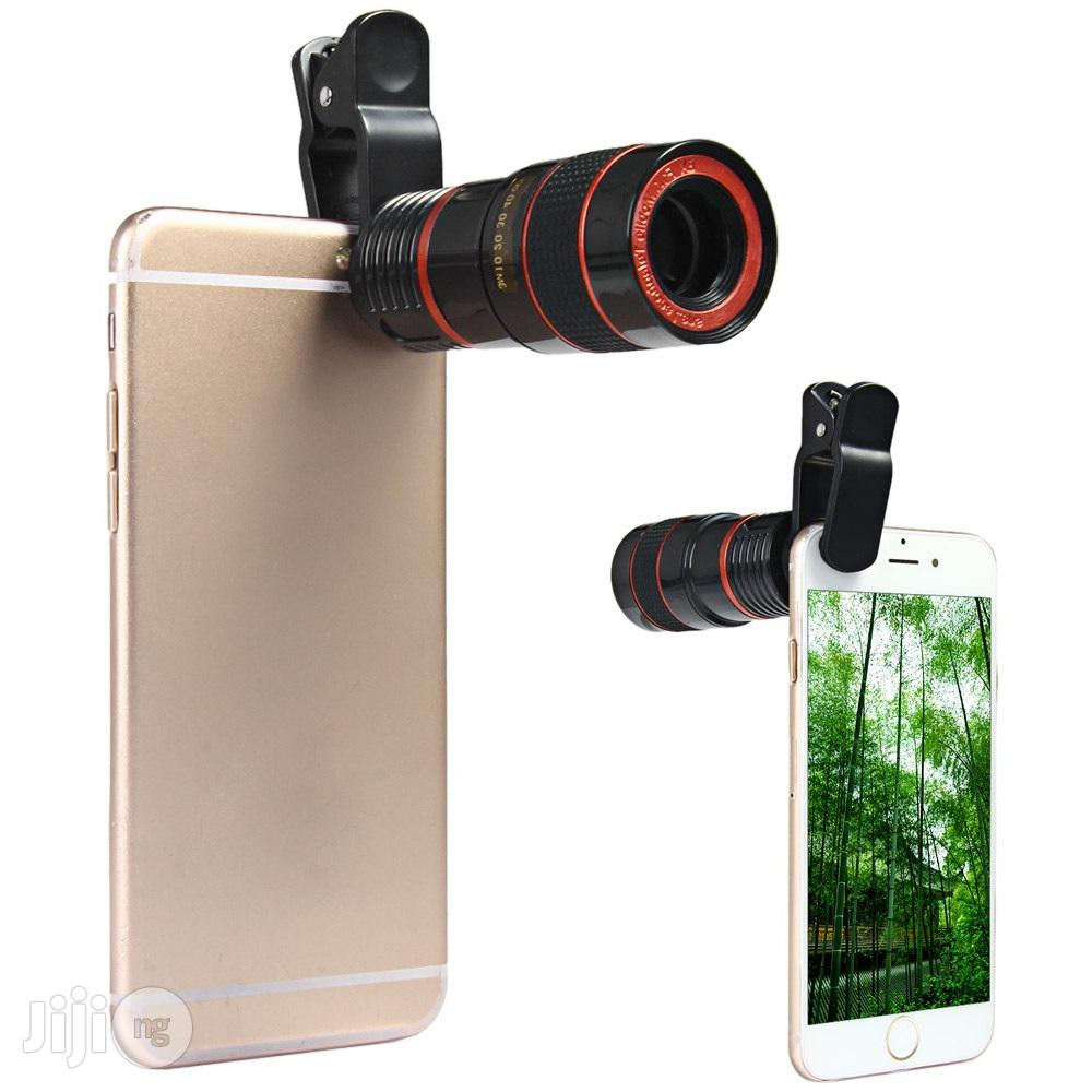 Mobile Telescope + Camera Lens & Selfie Ring Light Combo Pack | Accessories for Mobile Phones & Tablets for sale in Ikeja, Lagos State, Nigeria